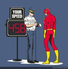 The Flash...Busted!