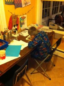 Chase writing