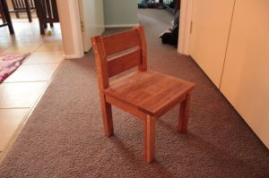 The Simple Beauty Of A Finished Chair