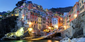 A town of the Cinque Terre Bay of Liguria, Italy
