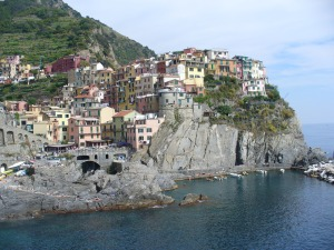 Another town of the Cinque Terre Bay of Liguria, Italy