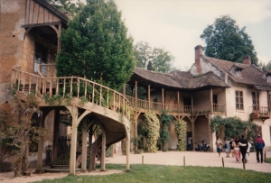 Country Chic Staircase, The Queen's Hamlet, Versailles, France