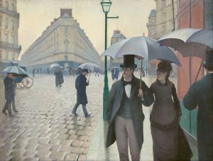 Paris Street; Rainy Day (1877), Gustave Caillebotte
