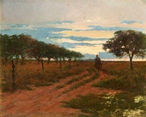 Returning to the Ranch (circa 1900), Angel Della Valle