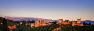 The Alhambra at Sunset ~ Granada