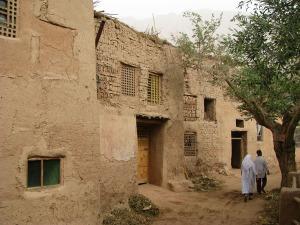 Tuyoq Village in Turpan, Xinjiang, China