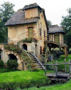 Water Mill, The Queen's Hamlet at Versailles, France
