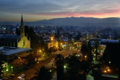 An Andes Evening In Godoy Cruz