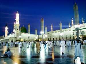 Al-Masjid al-Nabawi in Medina, Saudi Arabia—Holy Places To Those Of Us Who Happen To Be Muslims