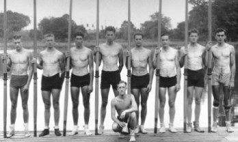 The 1936 US Olympic Rowing Team