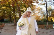 Couple In Love-Kyrgyz Bride And Groom