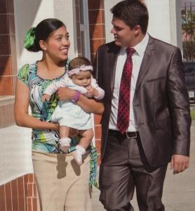 Familia en la Ciudad de México, Distrito Federal, los Estados Unidos Mexicanos