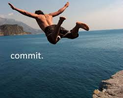 commit-man-diving-off-cliff